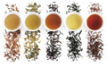 Several Common Instant Tea Powders and Applications